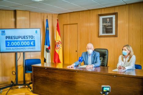 380 pymes y autónomos reciben 2 millones en ayudas del Ayuntamiento de Roquetas