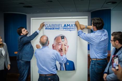 El PP de Roquetas inicia la campaña con un acto con militantes