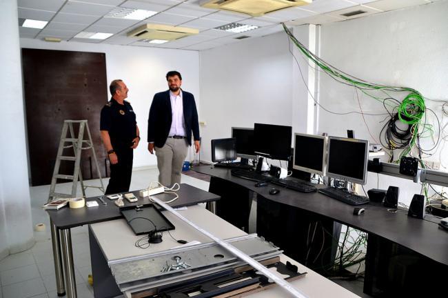 Comienzan las obras de modernización de la sala 092 en Roquetas