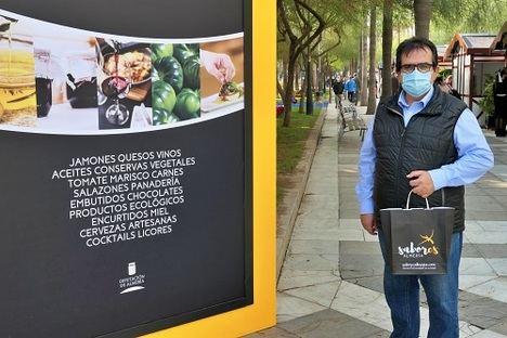'Sabores Almería' se despide de La Rambla llenando de calidad la Navidad almeriense
