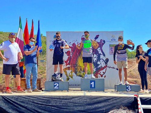 Exito del piloto pulpileño Saúl Giménez en el Campeonato de Murcia de Motocross