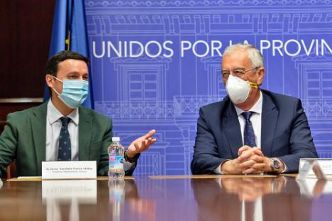 Diputación y Asempal amplían su acuerdo para fortalecer la estrategia Agua - Energía - Alimentos