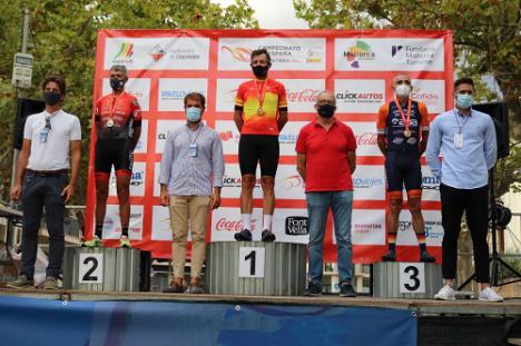 El ciclista roquetero Juan Moreno Gallardo es campeón de España Máster 60 en contrarreloj
