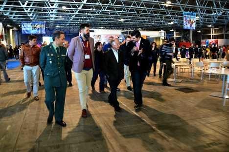 La feria de e-Spors Roquetas Gaming Show desborda el Palacio de Congresos