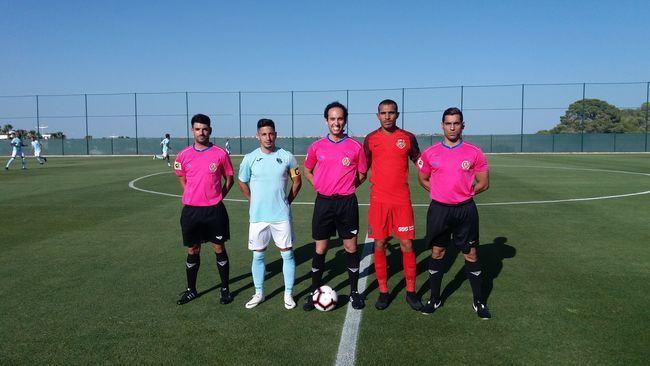 El Ejido empata con un equipo de los Emiratos Árabes