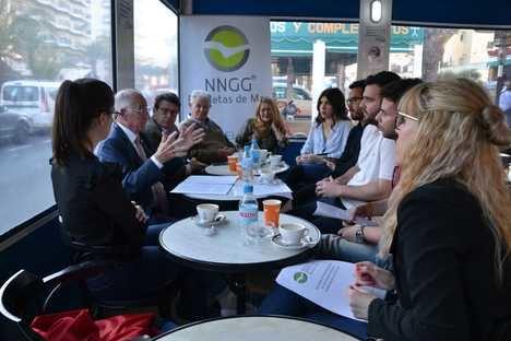 NNGG de Roquetas de Mar entrega sus propuestas para el programa municipal