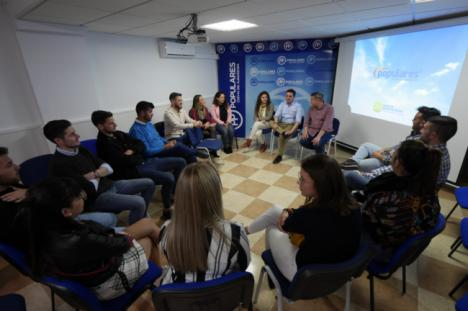 La lista del PP en Almería al Congreso es la más joven de Andalucía