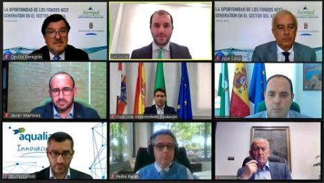 Diputación y ASEMPAL piden colaboración institucional para que los fondos europeos lleguen a las empresas