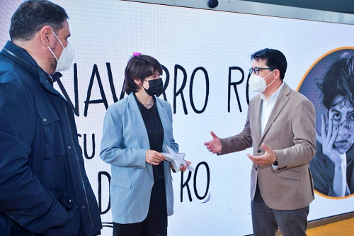 Diputación acompaña a la almeriese Marta Navarro, Premio Torrecárdenas 2020