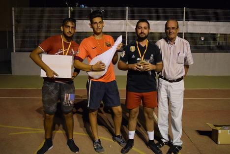Miguel Ángel Fernández Santiago gana del Campeonato de Tenis de la Feria de Gádor