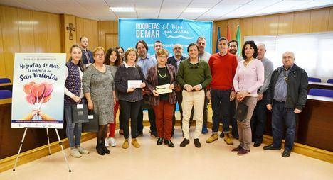 Comercio de Roquetas entrega los premios del sorteo de San Valentín