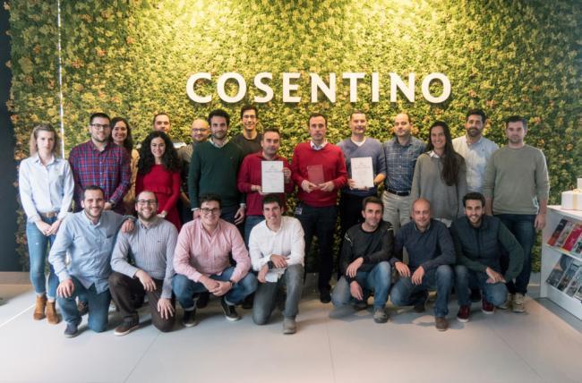 Doble distinción para el área de Compras de Grupo Cosentino por su innovación y transformación digital