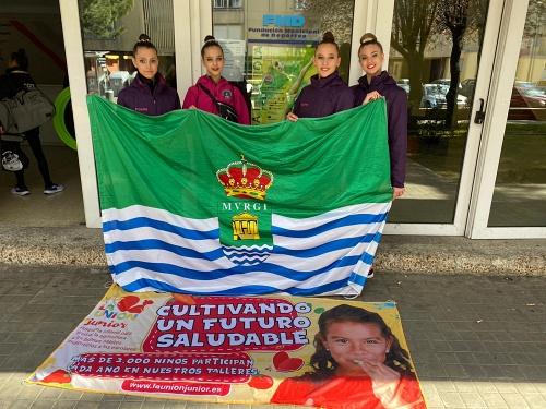 Cita Nacional y 3 Torneos para el Club Rítmica El Ejido