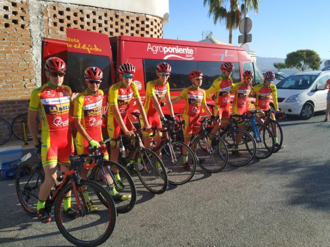 El Club Ciclista Ciudad de El Ejido en los Campeonatos de Andalucia