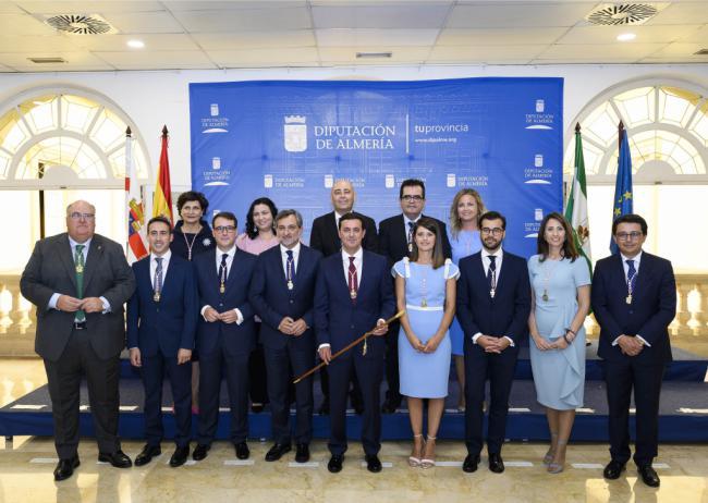 Nueve áreas y tres vicepresidencias componen la nueva estructura organizativa de Diputación
