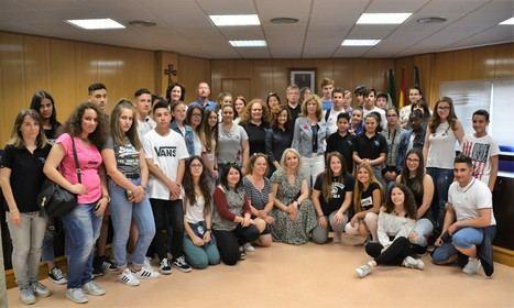 Intercambio de alumnos de Francia, Portugal y Grecia con el IES Algazul para prevenir conductas de riesgo en jóvenes