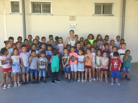Escuela de Verano en Vera para niños en riesgo de exclusión