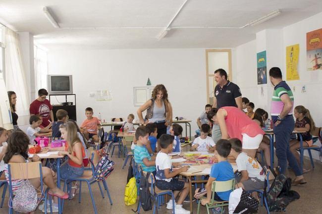 La Escuela de Verano de Carboneras abre para más de 200 niños