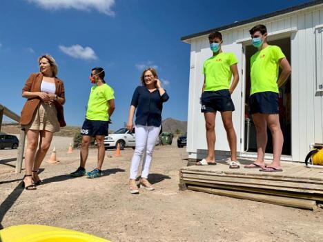 """""""Hemos puesto todos los medios posibles para un verano seguro en Níjar"""""""