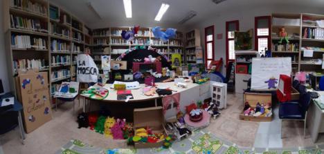 La Exposición Libros Y Cuentos Infantiles acaba en La Biblioteca Municipal 'Carmen De Burgos', De La Gangosa