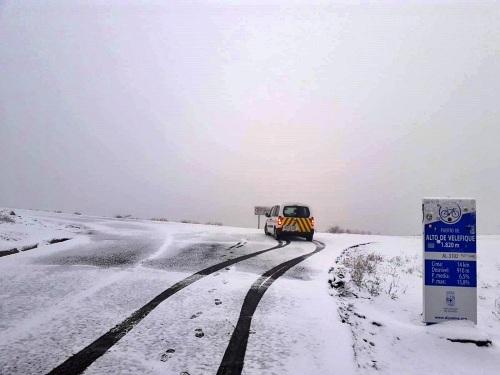 Diputación reactiva el Plan de Vialidad Invernal para retirar la nieve en las carreteras de montaña