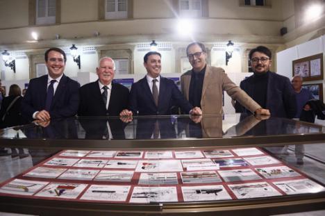 La historia de 'El tren en el Cómic' llega a Almería