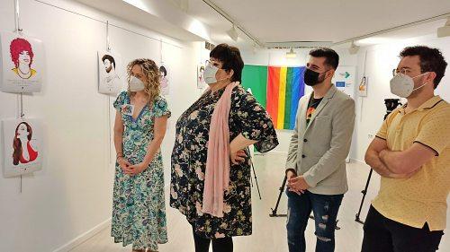 El IAJ se suma a los actos del Orgullo LGTBI con una exposición de ilustraciones