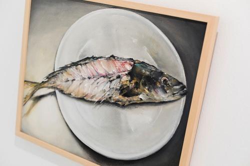 La Galería Alfareros muestra la nostalgia de la pintura de Ana Canteras