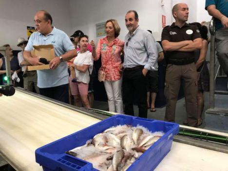 La Lonja de Almería incrementa un 7,8% el pescado fresco desembarcado hasta septiembre