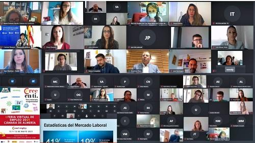 El SAE y el IAJ acercan sus servicios en la Feria Virtual de Empleo de la Cámara