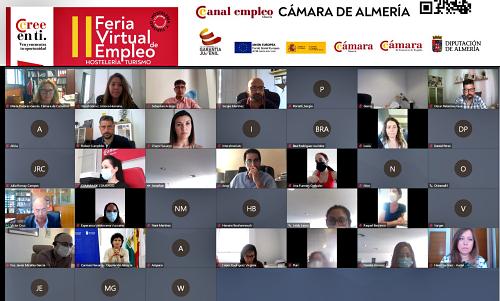 Más de 200 jóvenes y 40 empresas en la II Feria Virtual de Empleo impulsada por Cámara y Diputación