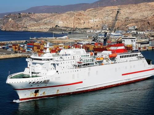 El martes se recupera la llegada de ferrys de Melilla