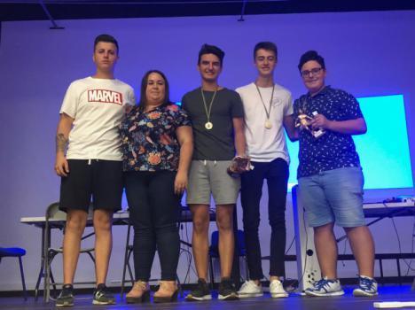 Jóvenes nijareños participan en el Torneo Fifa 2019