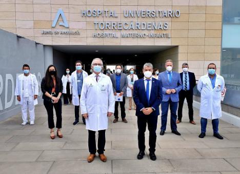 La UAL pone en valor la colaboración con el Hospital Torrecárdenas