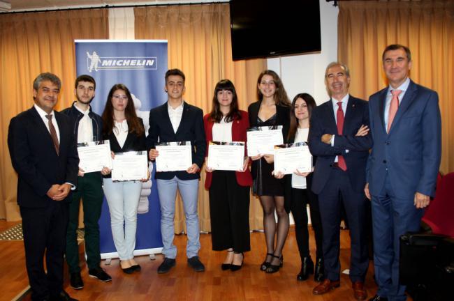 La UAL y Michelin premian el talento de los estudiantes de Ingeniería
