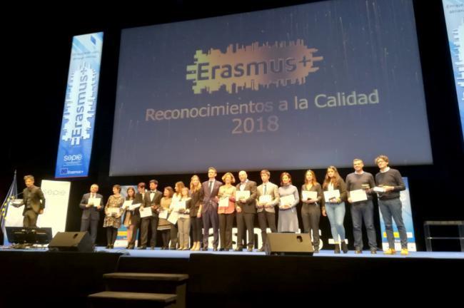 La UAL es premiada como la mejor universidad española en la gestión del Programa Erasmus+