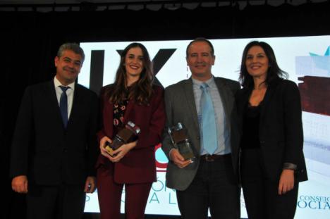 La UAL recibe dos premios del Foro de Consejos Sociales de las Universidades Públicas de Andalucía