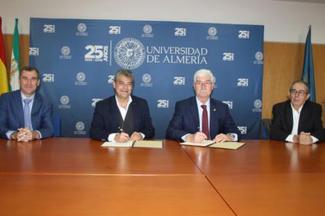 Convenio entre la UAL y el Colegio Oficial de Ingenieros Industriales de Andalucía Oriental