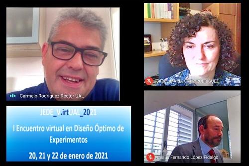 El I Encuentro virtual en Diseño Óptimo de Experimentos pone en valor a jóvenes investigadores