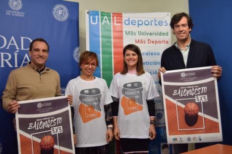 El Baloncesto 3x3 como nuevo 'gancho' para la activación en la Universidad de Almería