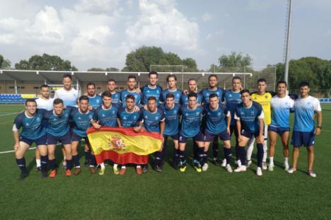 La UAL se acerca a las 'semis' del Campeonato de Europa de Fútbol