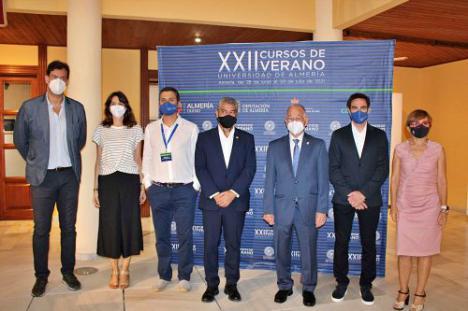 Inaugurados los XXII Cursos de Verano de la Universidad de Almería en la sede de Roquetas de Mar