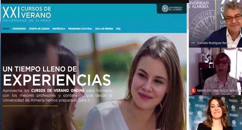 La UAL presenta la edición XXI de Cursos de Verano que será online