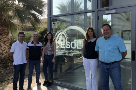 Premiado un trabajo de CIESOL para automatizar sistemas de reutilización de aguas residuales