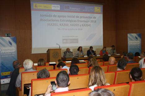 La UAL se abre a colaboraciones con Asociaciones Estratégicas del programa Erasmus+