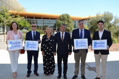 La UAL premia la labor de las empresas en la inserción laboral de estudiantes en los Ícaro 2018