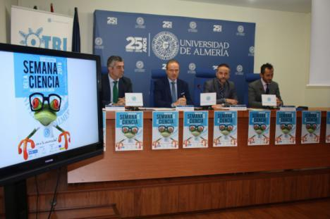 Más de 1.600 estudiantes participarán en la Semana de la Ciencia de la UAL