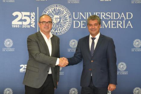 La UAL y la Agencia de Medio Ambiente y Agua de Andalucía aúnan fuerzas contra el cambio climático