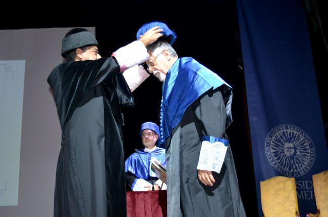 Manuel García Velarde, nuevo Doctor Honoris Causa de la UAL