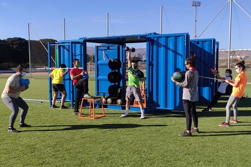 UAL Deportes abre el primer cubofit en Navidad